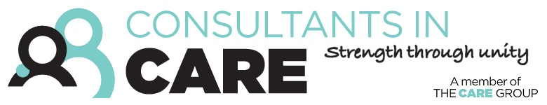 The Consultants in Care logo